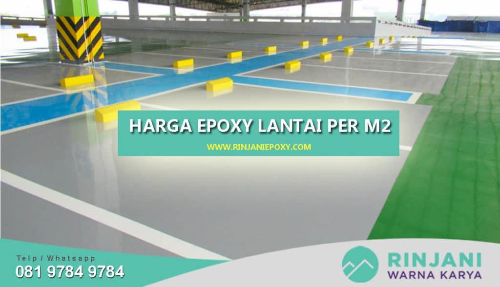 Harga Epoxy Lantai Per Meter m2