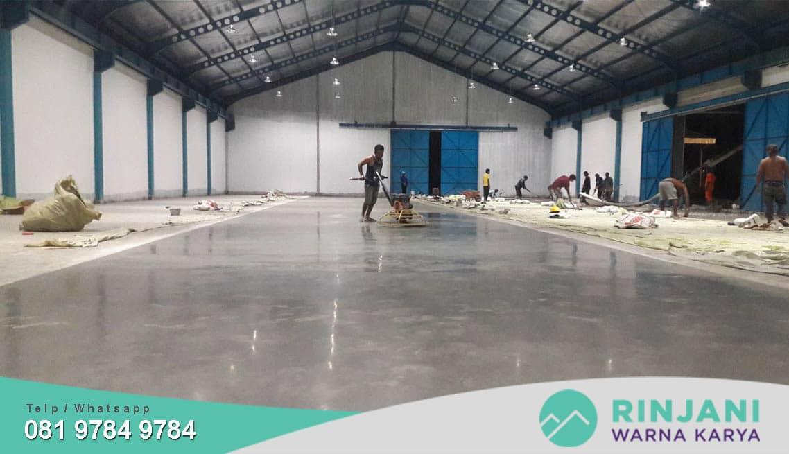 Jasa Floor Hardener Proffesional