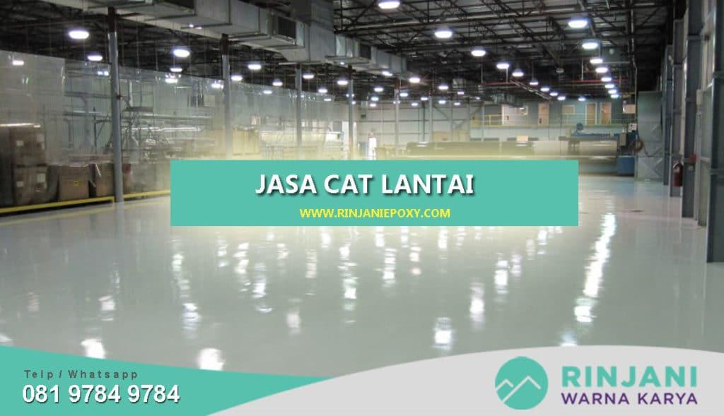 Jasa Cat Lantai Terbaik di Indonesia
