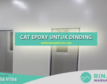 Cat Epoxy Lantai Dinding