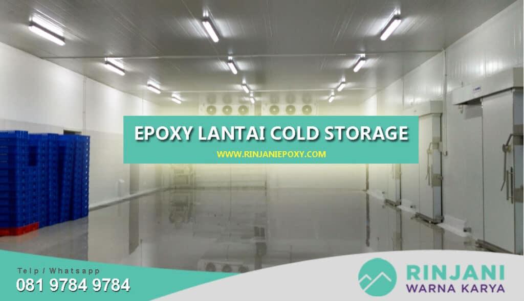 Epoxy Lantai Cold Storage