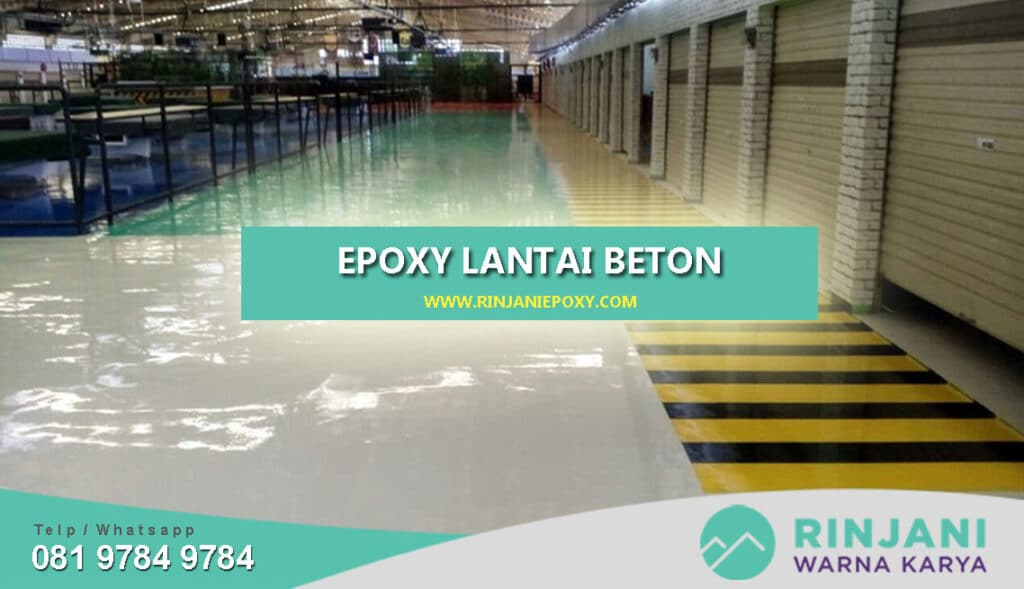 Ketahui Apa saja Syarat Utama untuk Beton Sebelum di Epoxy Lantai