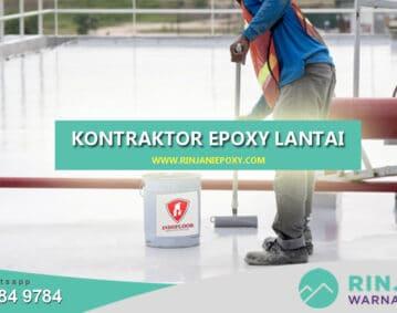 Kontraktor Epoxy Lantai Semarang