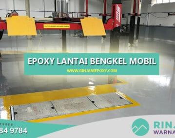 Epoxy Lantai Pontianak Bengkel Mobil