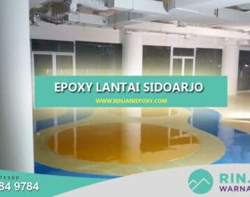 Jasa epoxy Lantai Sidoarjo