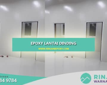 Epoxy Lantai Dinding Rinjani Epoxy