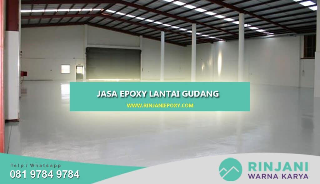 Jasa Epoxy Lantai Gudang