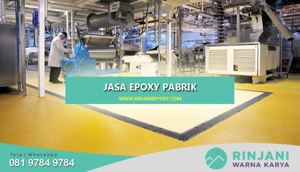 Jasa Epoxy Pabrik Industry