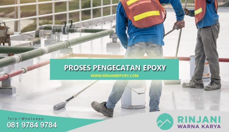Proses Pengecatan Epoxy Lantai