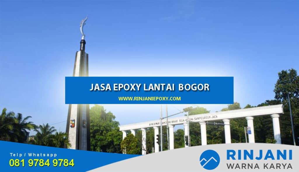 Jasa Epoxy Lantai Bogor Harga Murah Bergaransi