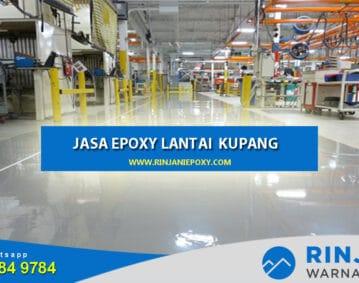 Kontraktor Epoxy Lantai Kupang