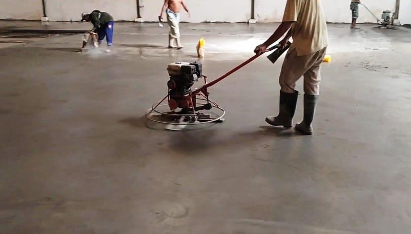 jasa floor hardener palembang